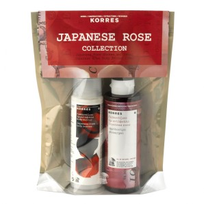 Japanese Rose set bathandunwind