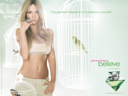 Britney Believe HotCosmetics