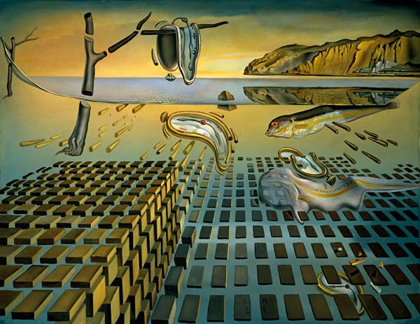 Salvador Dali Disintegration Of Memory NVG