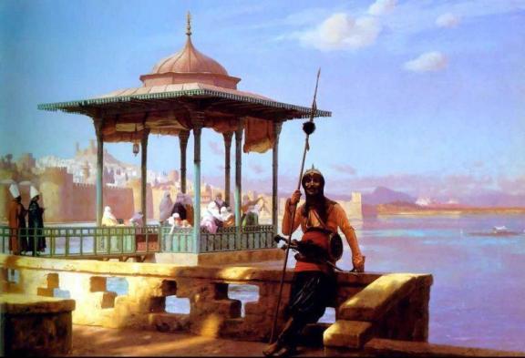 Al-Khat Xerjoff The Guardian of the Seraglio FramingPainting