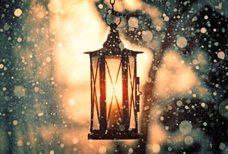 Baghari Snow Lamp WeHeartIt