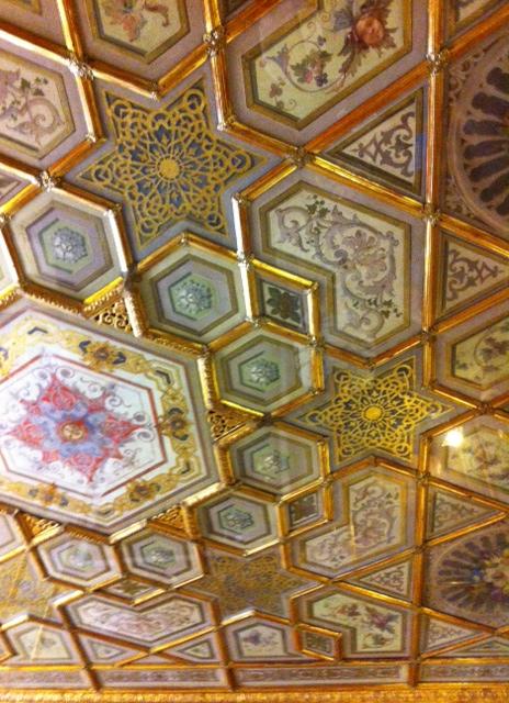 ETRO Relent Venice Cafe Ceiling