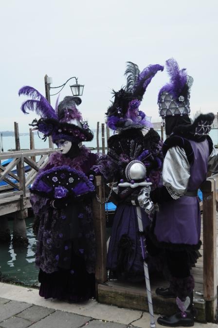 ETRO Relent Venice Canivale Costumes Purple