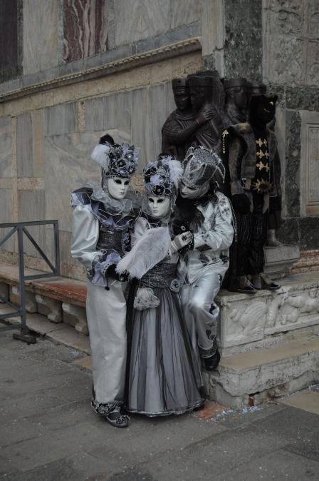 ETRO Relent Venice Carnivale Costumes Silver