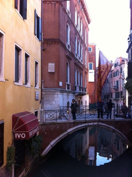 ETRO Relent Venice Jin on Bridge